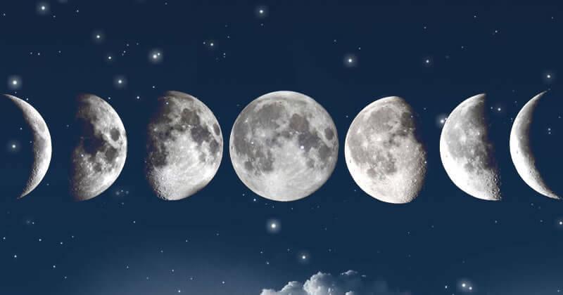 Como descobrir a fase da lua (sem calendário)?