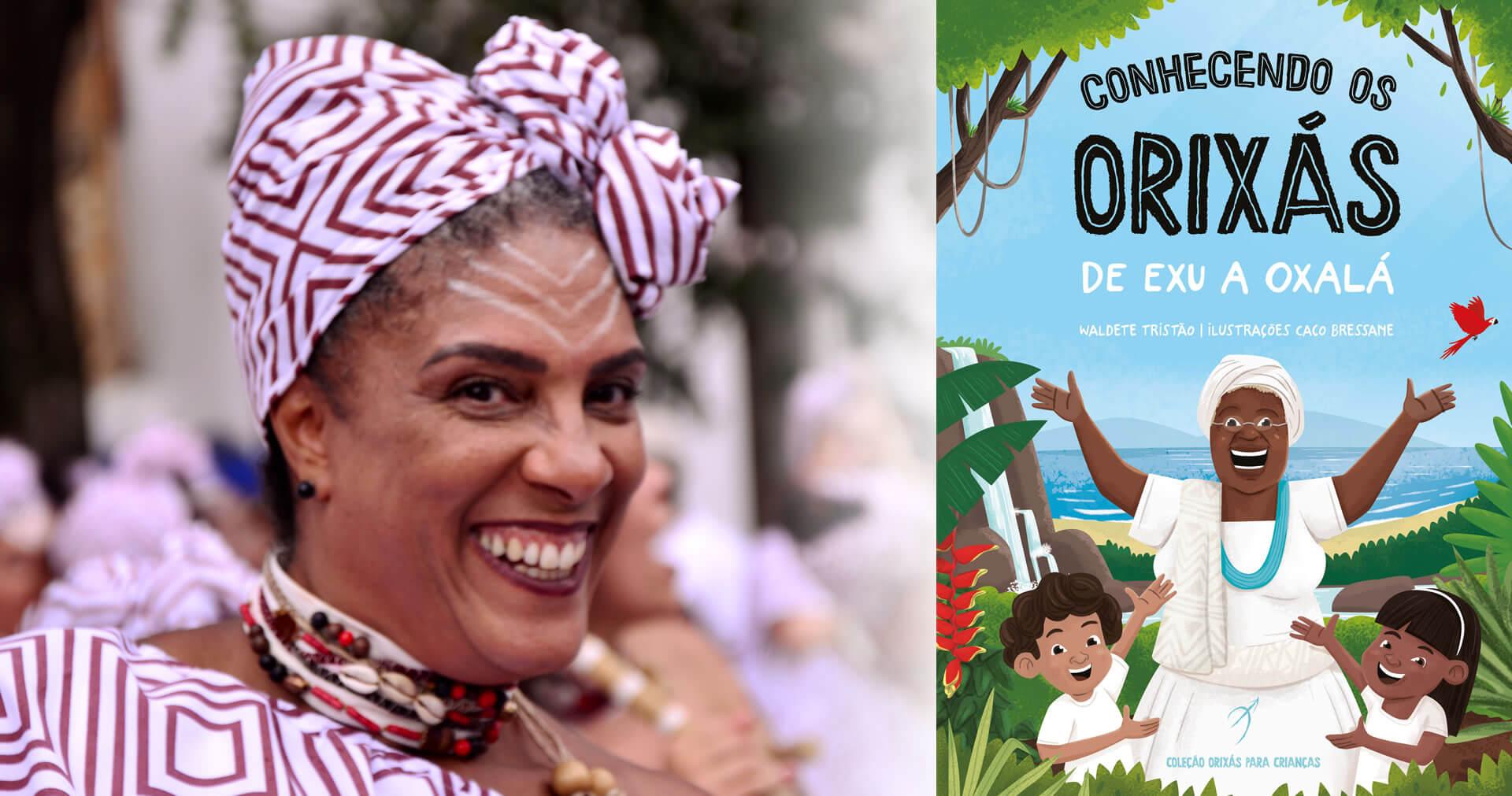 Orixás Para Crianças   Na estreia da Arole Cultural para o público infantil, professora da rede pública apresenta os deuses do candomblé
